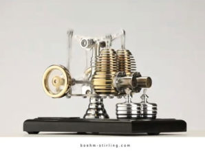 Modellbau: faszinierende Stirling Motoren selber bauen